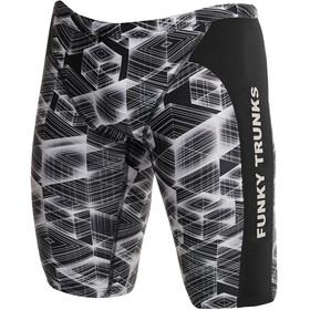 Funky Trunks Training Jammers Heren, black hole